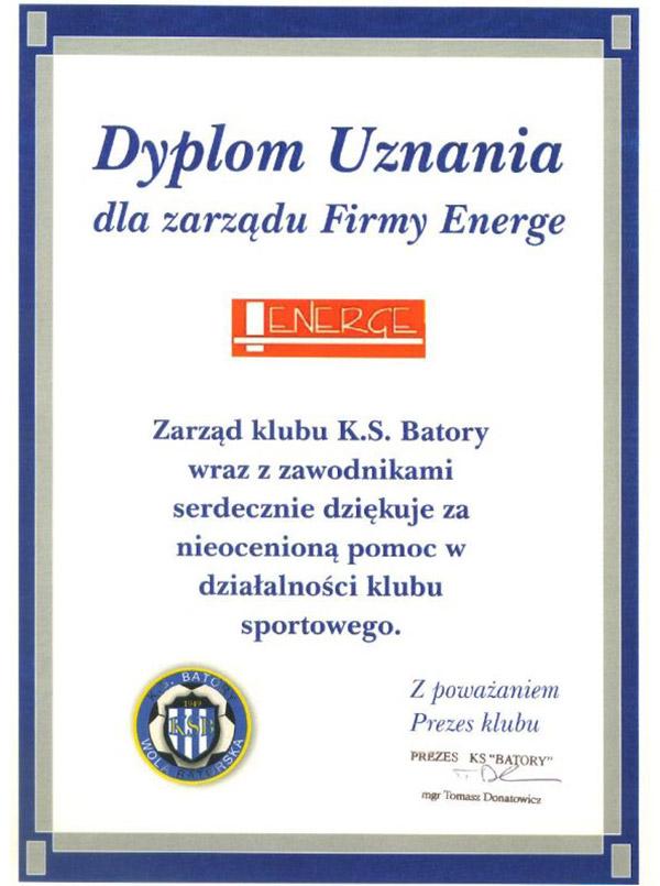 Klub KS Batory Wola Batorska
