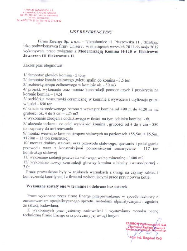 Tauron Wytwarzanie S.A. - 2