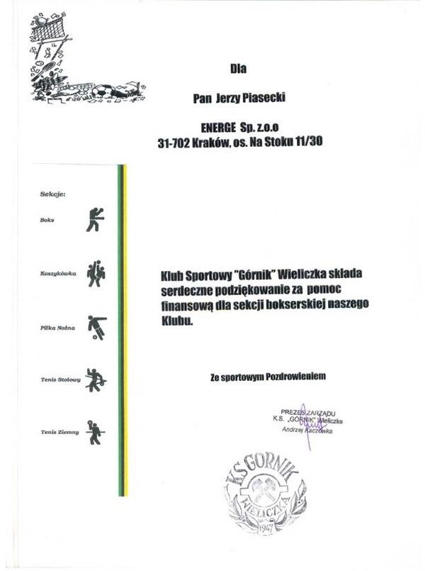 Klub Sportowy Górnik Wieliczka